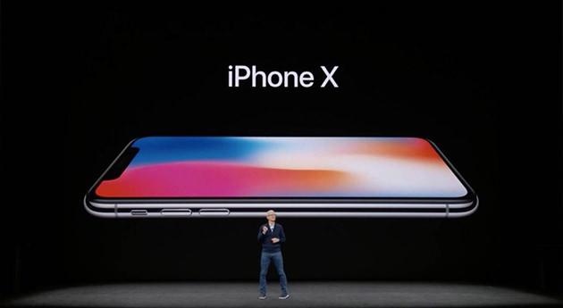 iPhone X発表